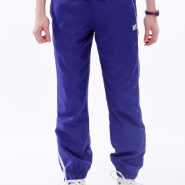 PANTALON SURVETEMENT POLYESTER FILLE INDIGO